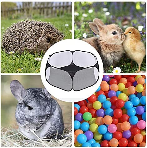 VICSPORT Small Animals Cage Tent Hamster Breathable Pet