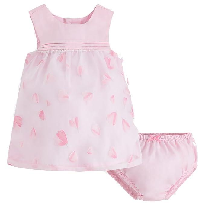Mayoral - Vestido - tulipán - para bebé niña Rosa 4- 6 Meses