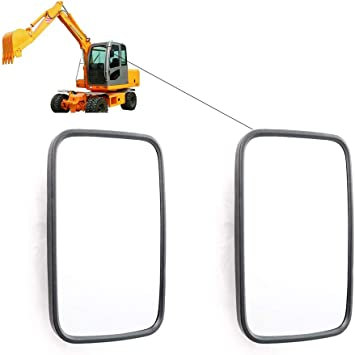 Primary Mirror Left Right Compatible with Excavator Farm Machinery Tractor