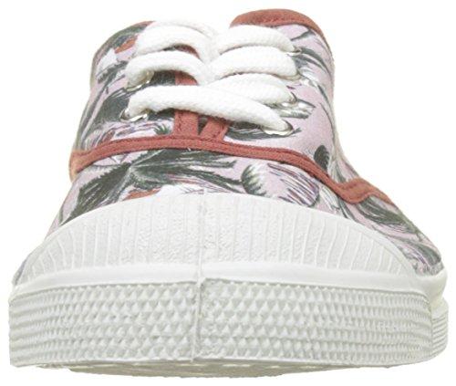 Palmiers Zapatillas Prints para Multicolor Bensimon Lacets Imprime Tennis Mujer Surf RfxWOwW7