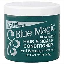 Blue Magic Conditioner, Hair & Scalp, Bergamot, 12 oz.