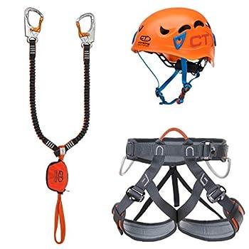 Image of Carabiners & Quickdraws Climbing Technology Kit Ferrata Plus Galaxy Ferrata Set, Multi-Colour, One Size