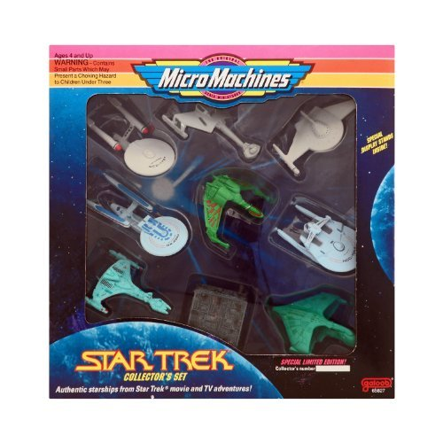 - Micro Machines Star Trek Collector's Box Set