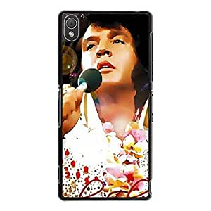 New Style Elvis Presley Phone Case Cover For Sony Xperia Z3 Elvis Luxury Pattern