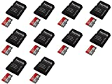 10 x Quantity of Microsoft Lumia 735 32GB Micro SD Memory Card SDHC Ultra Class 10 with Adapter up to 48MB/s - FAST FREE SHIPPING FROM Orlando, Florida USA!