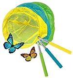 "KOVOT Set Of 3 Telescopic Butterfly Nets - 15"" - 34"""