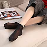 Japan's purchase value loaded double thick velvet stockings women girl anti-hook silk stockings sub-foot fall and winter short paragraph 10