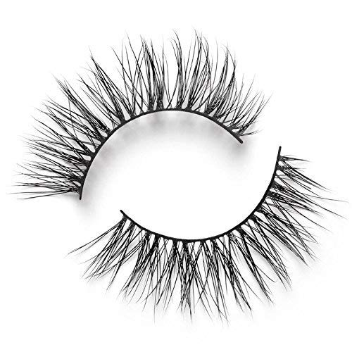 Lilly Lashes Lite Mink Opulence | False Eyelashes | Natural Look and Feel | Mink | Stackable & Reusable | Non-Magnetic | 100% Handmade & Cruelty-Free