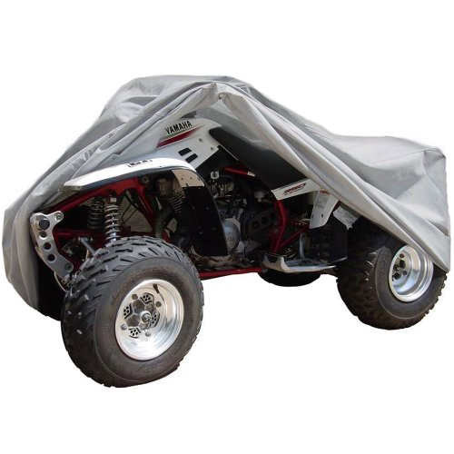 OxGord Superior ATV Cover - Basic Outdoor 4 Layers - Tough Stuff - Ready-Fit/Semi Custom - Fits up to 82 inches