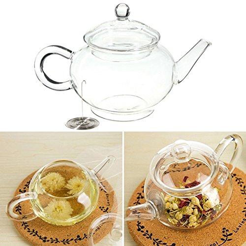 glass 250ml teapot - 5
