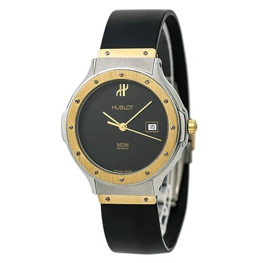 Hublot 1401.2 - Reloj de cuarzo para hombre (certificado de autenticidad)
