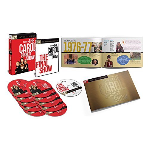 The Best of The Carol Burnett Show By TimeLife - 33 Episodes on 11 DVD Collection by Time Life