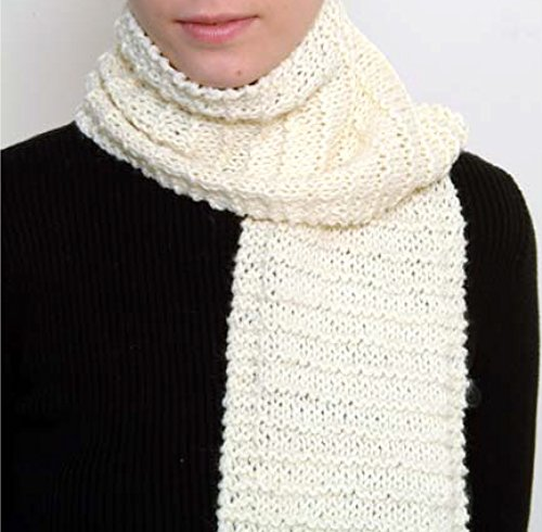 nit Kit with Encore Worsted Yarn - CREAMY WHITE ()