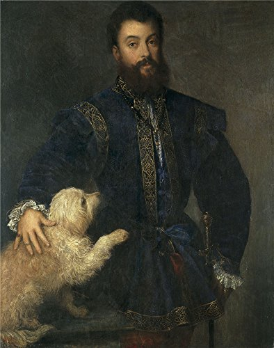 The Perfect Effect Canvas Of Oil Painting 'Titian [Vecellio Di Gregorio Tiziano] Federico Gonzaga I Duke Of Mantua 1529 ' ,size: 12 X 15 Inch / 30 X 39 Cm ,this Best Price Art Decorative Prints On Canvas Is Fit For Kids Room Decoration And Home Decoration by artspoint
