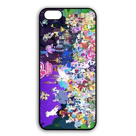Cartoon Theme Pretty My Little Pony Phone Case for iPod Touch 6th Generation (My Little Pony Ipod Touch Case)