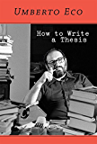 How to Write a Thesis (MIT Press)