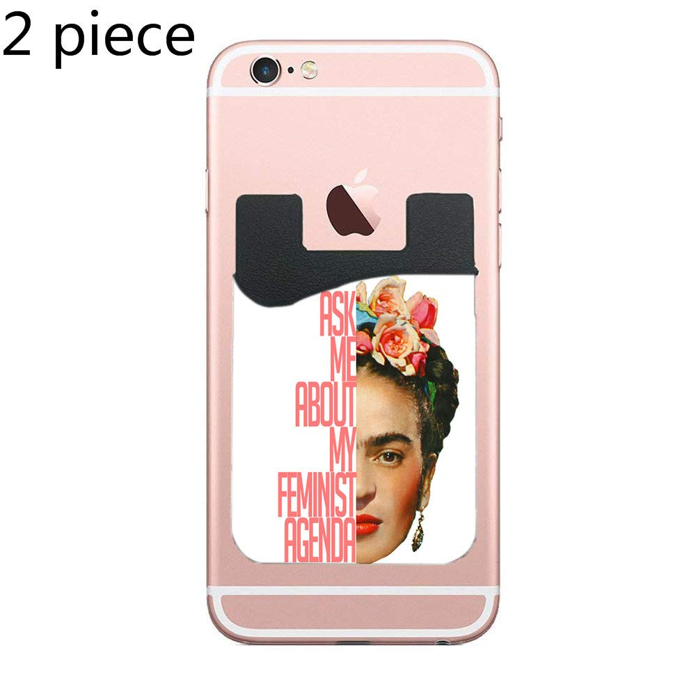 Amazon.com: Two Frida Kahlo Cell Phone Stick on Wallet Card ...