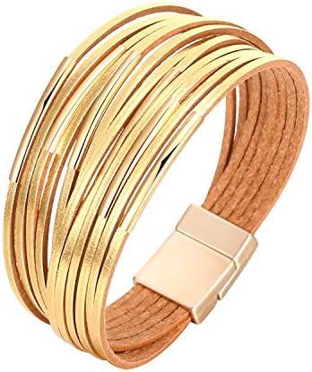 Fesciory Multi Layer Bracelet Handmade Wristband product image