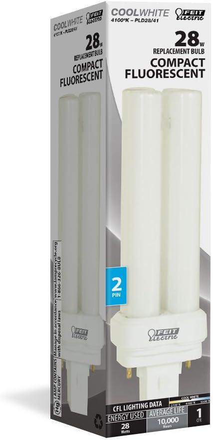 Feit Electric PLD28//41 28-Watt Fluorescent PL Bulb