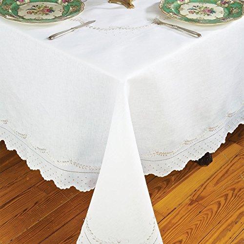 Crescente Placemat Sets, Beige (4 Mats, 4 Napkins) by Schweitzer Linen