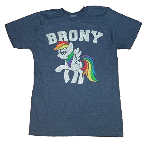 My Little Pony Brony Licensed Graphic T-Shirt - X-Large (Brony My Little Pony Shirt)
