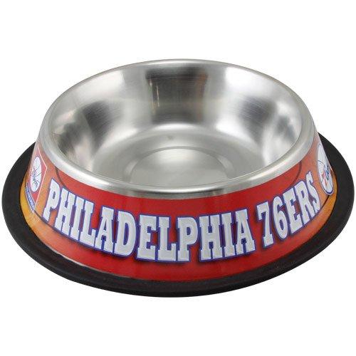 Hunter Philadelphia 76'Ers Stainless Steel Pet Bowl, 32 oz. by Hunter