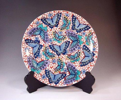 Arita - Imari | pottery ornaments Sarah Kazarisara - platter | gifts | Gifts | souvenir | gift | Sakuracho Fujii NishikiAya - Imari Large Platter