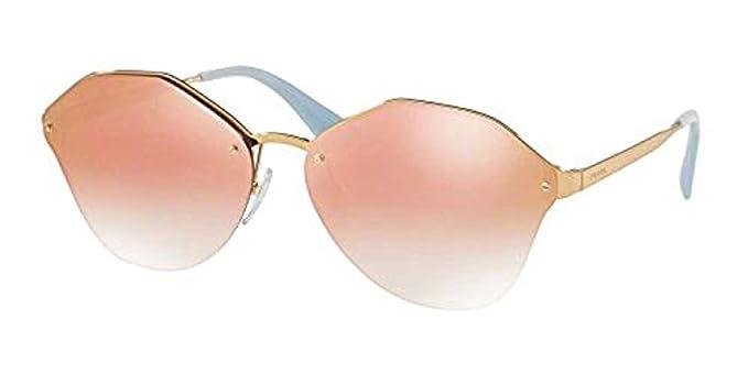 6ed64c08f6c9 Prada Women's PR 64TS Sunglasses 66mm at Amazon Women's Clothing store:
