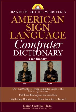 Random House Webster's American Sign Language Computer Dictionary