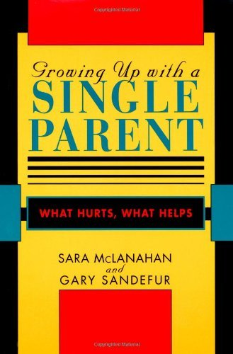Download Growing Up With a Single Parent: What Hurts, What Helps Pdf