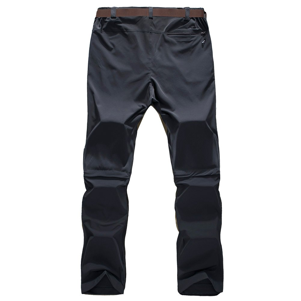 Outdoor Hiking Pants Convertible for Men 33W x 31L