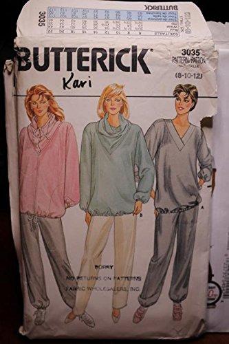 (Butterick Pattern 3035 Sz 8,10,12 Misses' Maternity Jacket, Top & pants UNCUT FF)