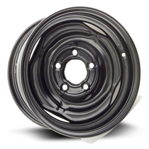 Steel Rim 15X6, 5X127, 78.1, +10, black finish (MULTI APPLICATION FITMENT) X45386
