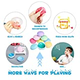 FUNTOK Slime kit Macaroon Crystal clay Mud Putty Toy Soft Squeeze Squishy Jelly Pudding Toy Scented Stress Relief Toy For Kids Education 8PCS