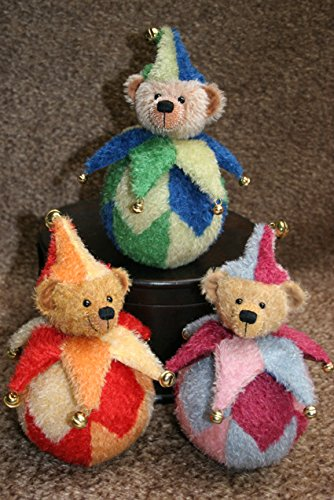 Teddy Bear ''Tumbly'' ± 6 Inches - Sew It Yourself KIT (red/orange) by ProBär