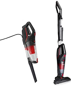 9. Dibea 2-in-1 Corded Upright Stick & Handheld Vacuum Cleaner