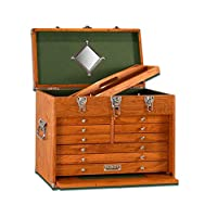 Gerstner International GI-T20 Red Oak 9-Drawer Top Chest