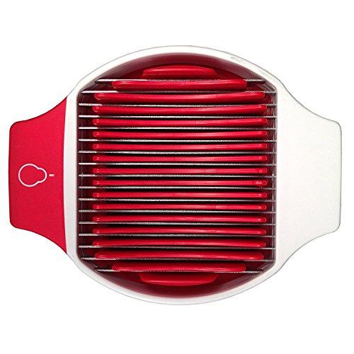 Crisp Strawberry Slicer, White/Red