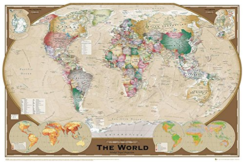 gb eye world map poster - 4
