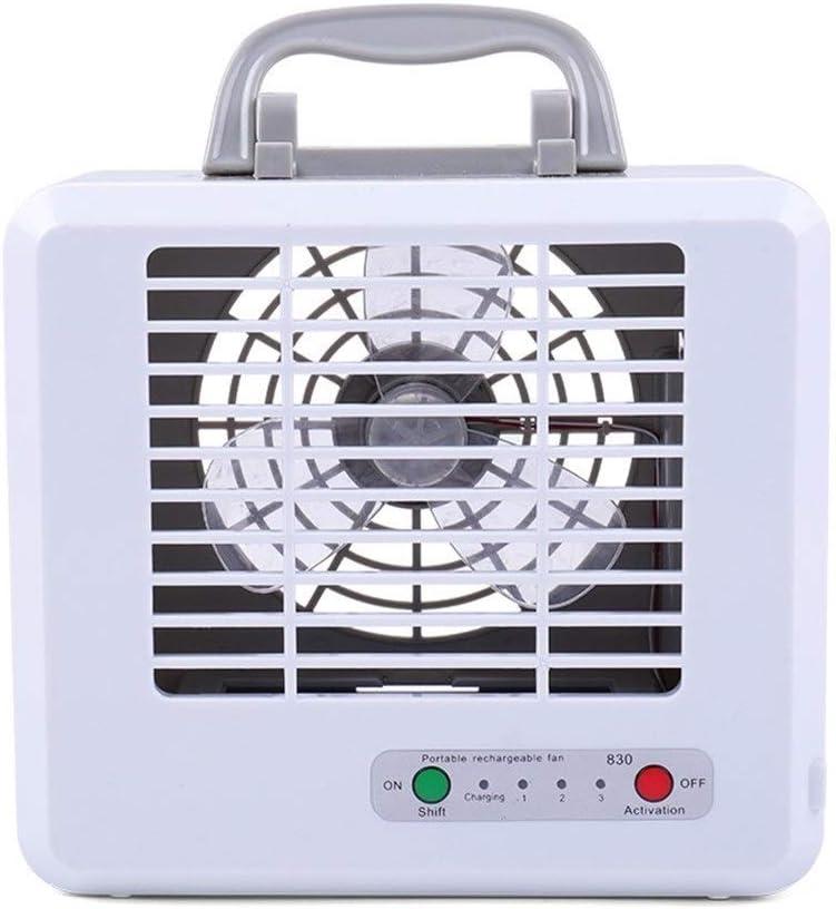 RongDuosi Mini ventilator, draagbaar, voor op het bureau