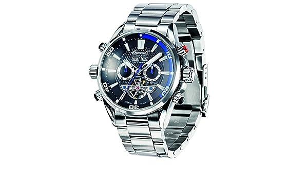 Ingersoll IN1507BKBL Reloj para Hombres: Amazon.es: Relojes