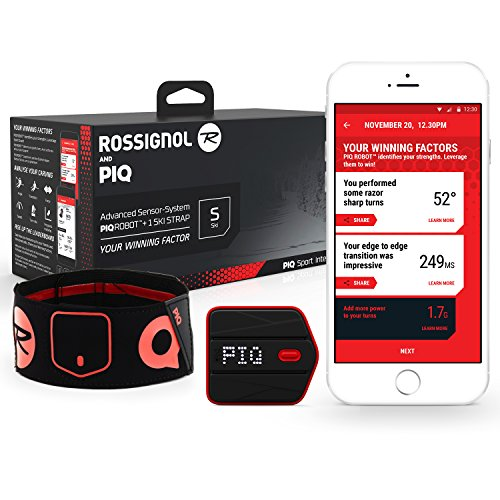 Rossignol & PIQ Wearable Ski Sport Tracker - Turn, Jump and Trick - Tracking Day Air Next