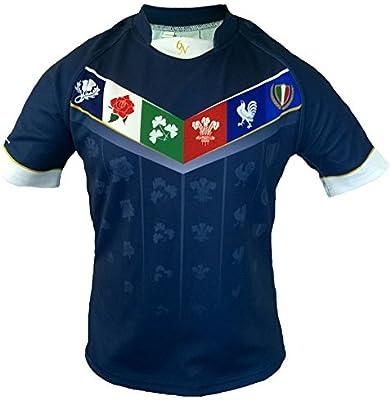 Olorun 6 Six Naciones Rugby Camisa (Inglaterra Gales Escocia ...