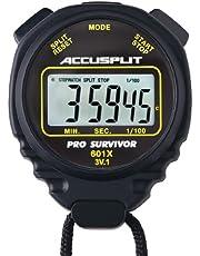 ACCUSPLIT Pro Survivor - A601X Cronómetro, Reloj, Pantalla Extragrande