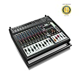 #7: Behringer EUROPOWER PMP4000 1600-Watt 16-Channel Powered Mixer with 1 Year EverythingMusic Extended Warranty Free