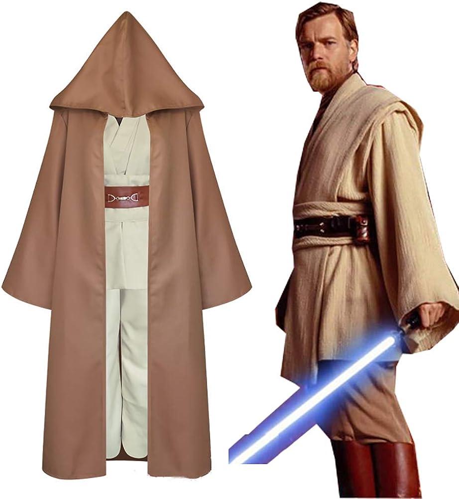 Star Wars Jedi Boys Cosplay Luke Skywalker Kids Halloween Party Costume OutfitGD