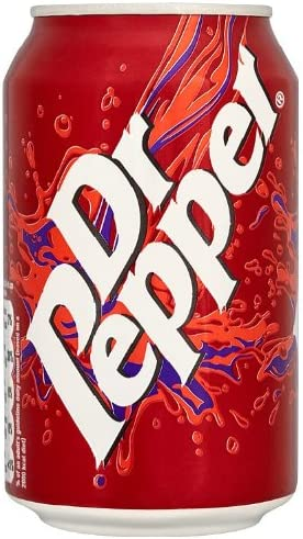 Dr Pepper Soft Drink Can 330 ml (Pack of 24): Amazon.es: Salud y ...