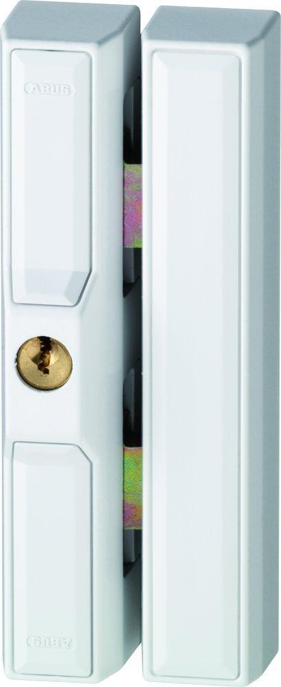 Abus 35232 FTS 88 W Verrou de fenêtre battante à clé Blanc Ivre avec Cales 0027532, 134 FTS88W_C_N