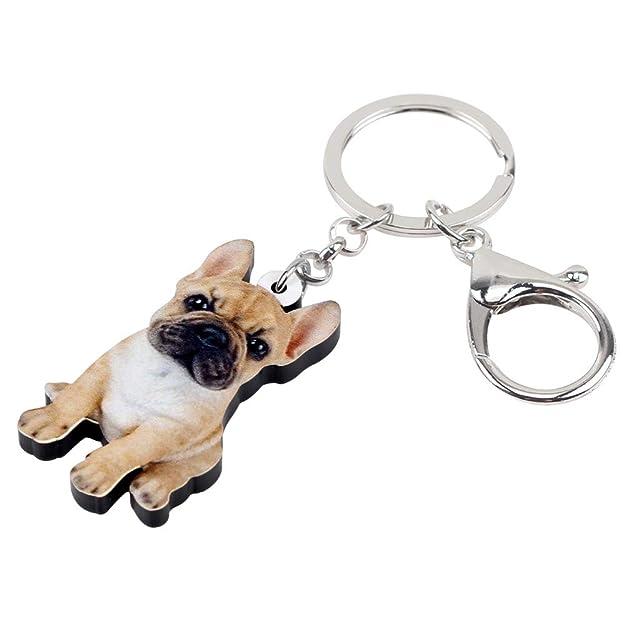 NNNEIYI Acrílico Sentado Bulldog francés Cachorro Perro ...