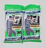 2021 Panini Donruss MLB Baseball Fat Pack - 2 Packs